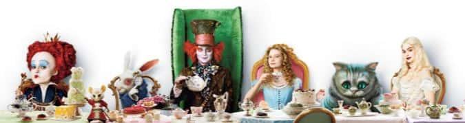 Ужин у Алисы в стране чудес