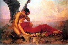Морфей и спящая девушка