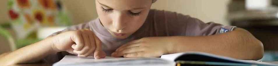 У ребенка дислексия