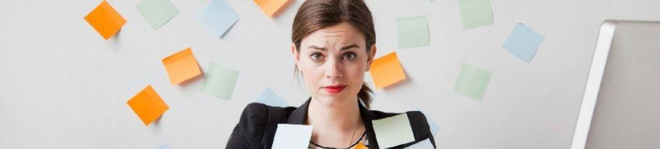 Женщина на работе